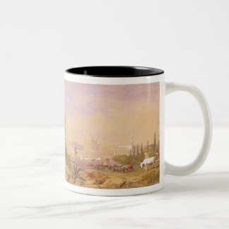 The discovery of Tipu's body at the Water Gate at Two-Tone Coffee Mug