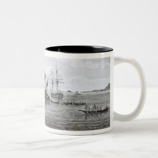The Discovery on the Rocks in Queen Charlotte's So Two-Tone Coffee Mug