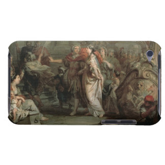 The Disembarkation of Cleopatra at Tarsus (oil on Barely There iPod Cover
