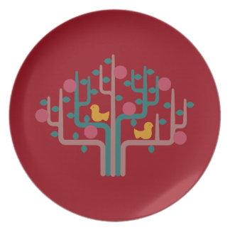 The dish in mid century tone