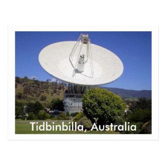 The dish postcard