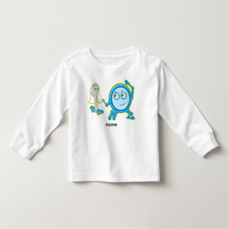 The Dish Ran Away With The Spoon Funny Cartoon Toddler T-Shirt