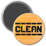 The Dishes Are Clean Refrigerator Magnets