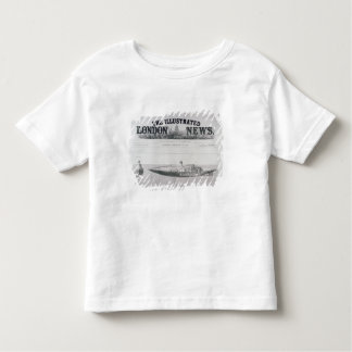 The Displacement Sinking and Rising Submarine Toddler T-Shirt