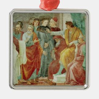 The Dispute with Simon Mago Christmas Ornament