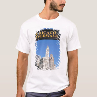 The distinctive design and clocktower of the T-Shirt
