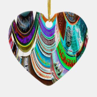 The Distortion of Literature Ceramic Heart Decoration