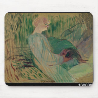 The Divan, Rolande, 1894 Mouse Mat