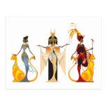 The Divas of Egypt Postcards