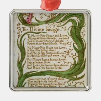 The Divine Image, from Songs of Innocence, 1789 Christmas Ornament