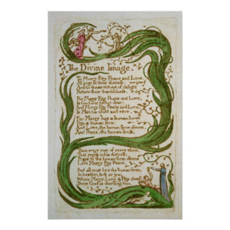 The Divine Image, from Songs of Innocence, 1789 Poster