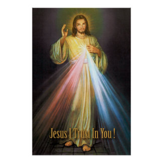 THE DIVINE MERCY DEVOTIONAL IMAGE POSTER