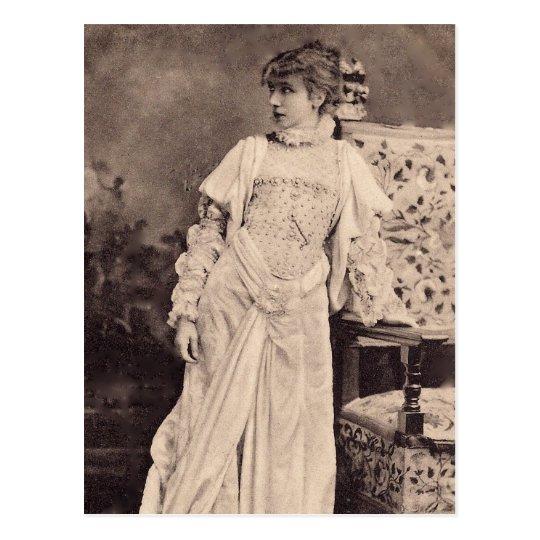 The Divine Sarah Postcard