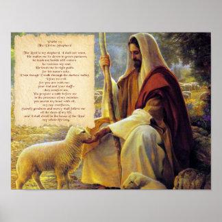 THE DIVINE SHEPERD POSTER