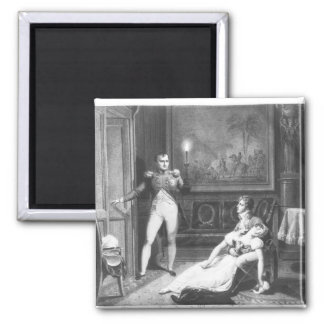 The Divorce of Napoleon I Square Magnet