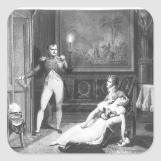 The Divorce of Napoleon I Square Sticker