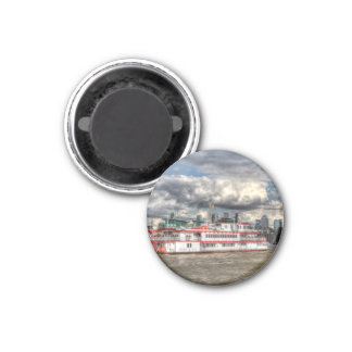 The Dixie Queen Paddle Steamer Refrigerator Magnet