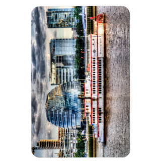 The Dixie Queen Paddle Steamer Rectangular Magnets