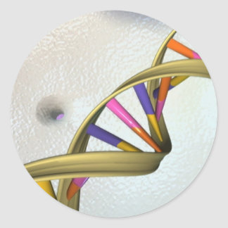The DNA Collection Classic Round Sticker