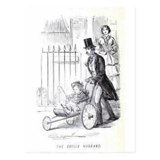 The Docile Husband Postcard