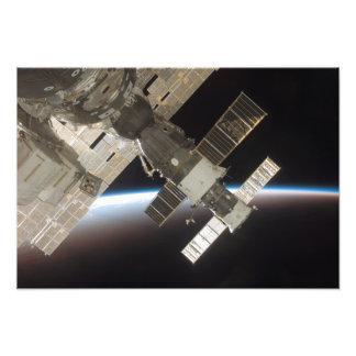 The docked Soyuz 13 Photographic Print