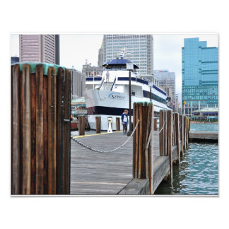 The Docks at Baltimore Harbor Art Photo