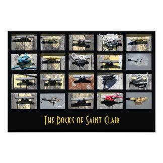 The Docks of Saint Clair Photo Print