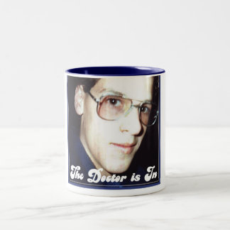 The Doctor Is In! Two-Tone Mug
