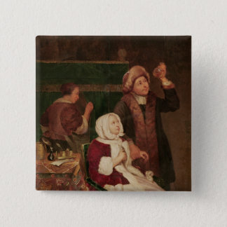 The Doctor's Visit 15 Cm Square Badge