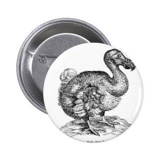 The Dodo 6 Cm Round Badge
