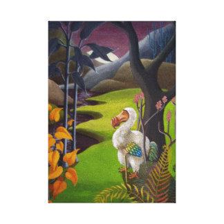 The Dodo Canvas Print