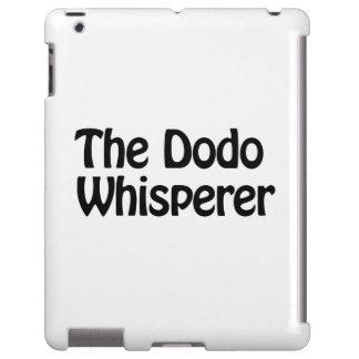 the dodo whisperer iPad case