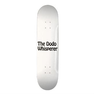 the dodo whisperer skate board decks