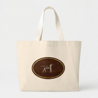 The Dog 2009 Large Tote Bag