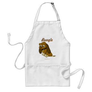 The Dog Cartoon Animated Beagle Aprons
