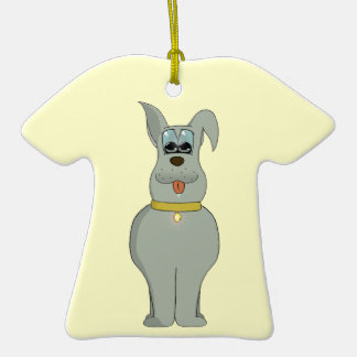 The dog ceramic T-Shirt decoration