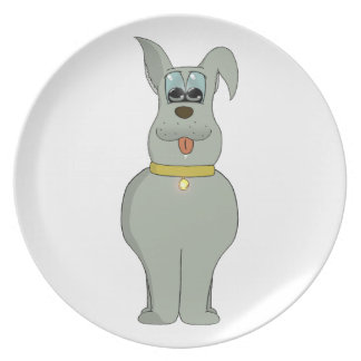 The dog dinner plate