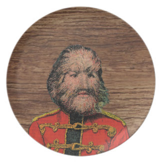 The Dog Faced Man Plate