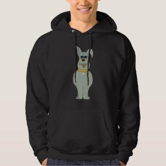 The dog hoodie