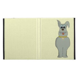 The dog iPad folio cover