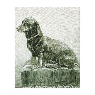 The Dog Jacob Canvas Print