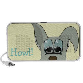 The dog notebook speakers