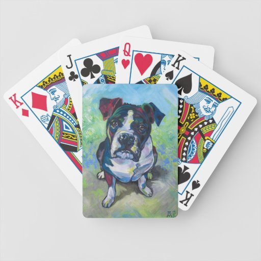 The Dog Bicycle Playing Cards