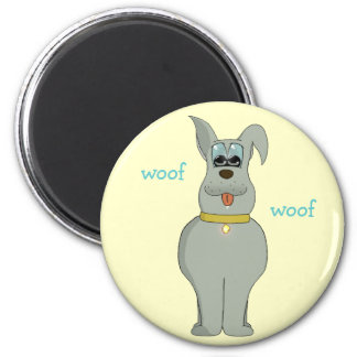 The dog refrigerator magnets