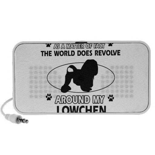 The dog revolves around my LOWCHEN Mini Speaker
