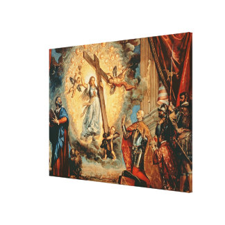 The Doge Grimani kneeling before Faith Gallery Wrapped Canvas