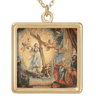 The Doge Grimani kneeling before Faith Necklace