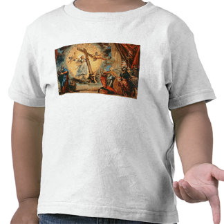 The Doge Grimani kneeling before Faith Tee Shirts