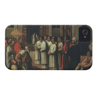 The Doge Ziani Meets Pope Alexander III (1105-81) iPhone 4 Covers