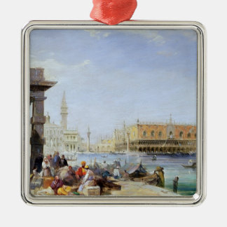 The Doge's Palace from Santa Maria della Christmas Ornament